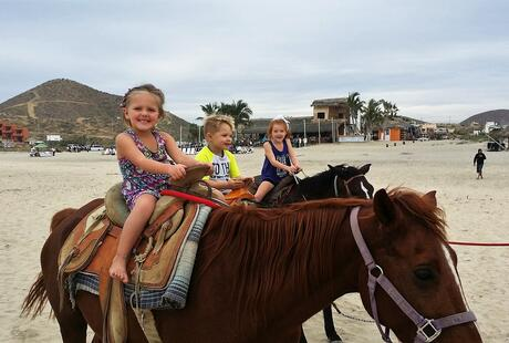 Horse Rides on Cerritos Beach
